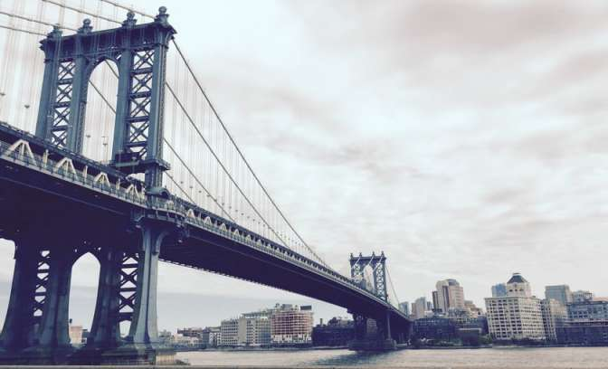 Williamsburg brug in New York City