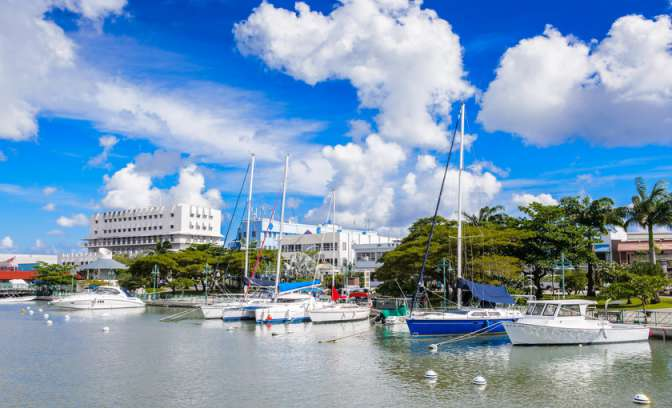 Port of Bridgetown op Barbados