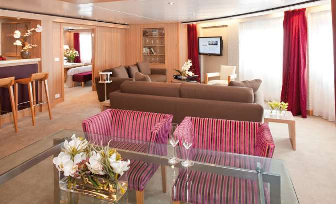 Signature Suite op Seabourn Quest