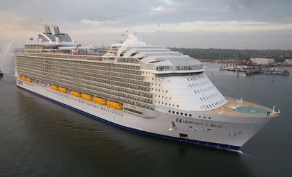 Cruiseschip Harmony of the Seas van rederij Royal Caribbean International