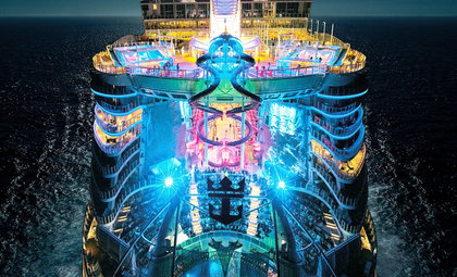 Symphony of the seas van Royal Caribbean