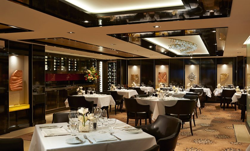 Restaurant The Haven op de Norwegian Getaway van NCL