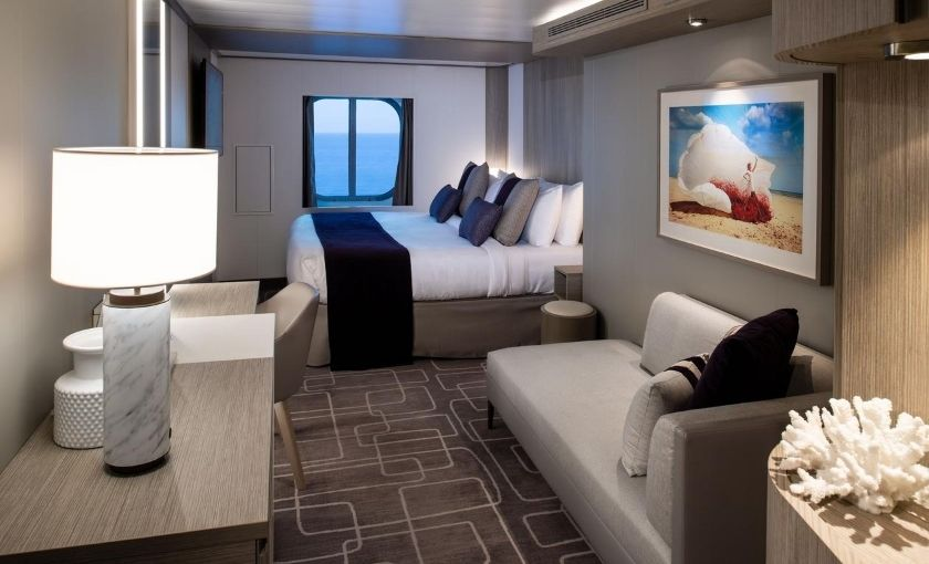 Celebrity Edge buitenhut