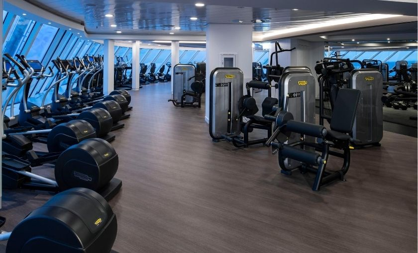 Celebrity Edge Fitness center